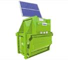 Solar Powered Vertical waste Packer